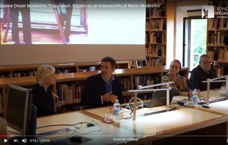 Sono online nel canale YouTube della Fondazione Federico Zeri le videoregistrazioni integrali degli Incontri in Biblioteca 2019. Seguici.