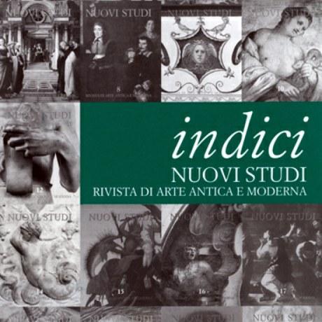 Giovedì 23 novembre ore 17.30 Aldo Galli presenta VENT'ANNI DI NUOVI STUDI RIVISTA DI ARTE ANTICA E MODERNA