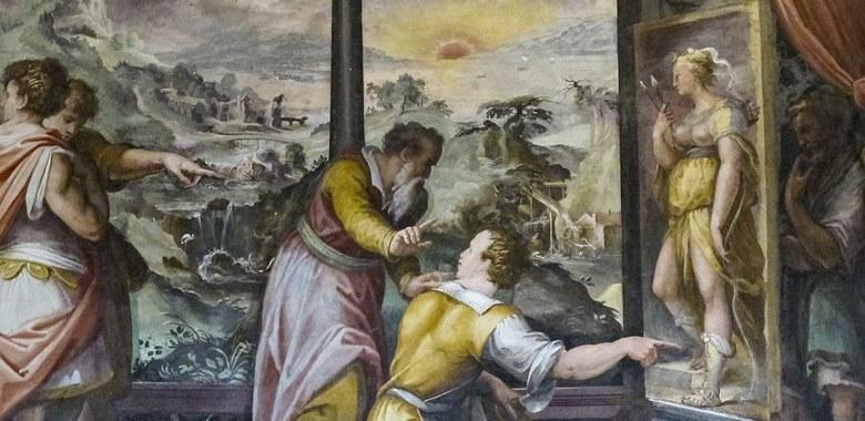 Dettaglio quadro Vasari
