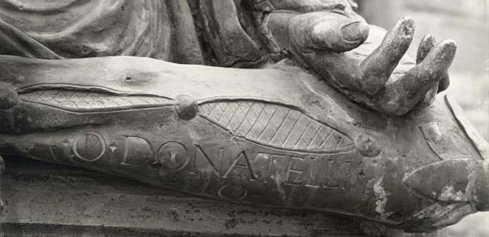 Dettaglio scultura Donatello