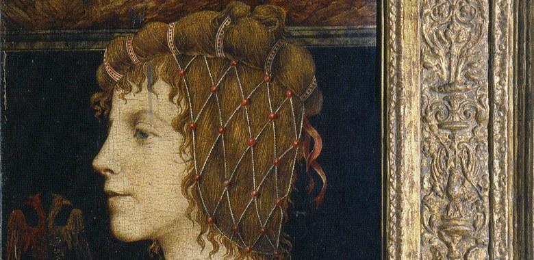 Falsario del 900 Ritratto con cornice