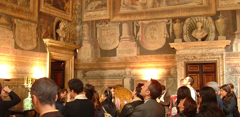 Palazzo Ricci Scchetti, Pittura e controriforma. Il papato di  Paolo III Farnese, corso 2005